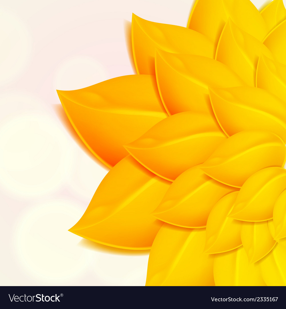 Autumn background with yellow foliage vector | Price: 1 Credit (USD $1)