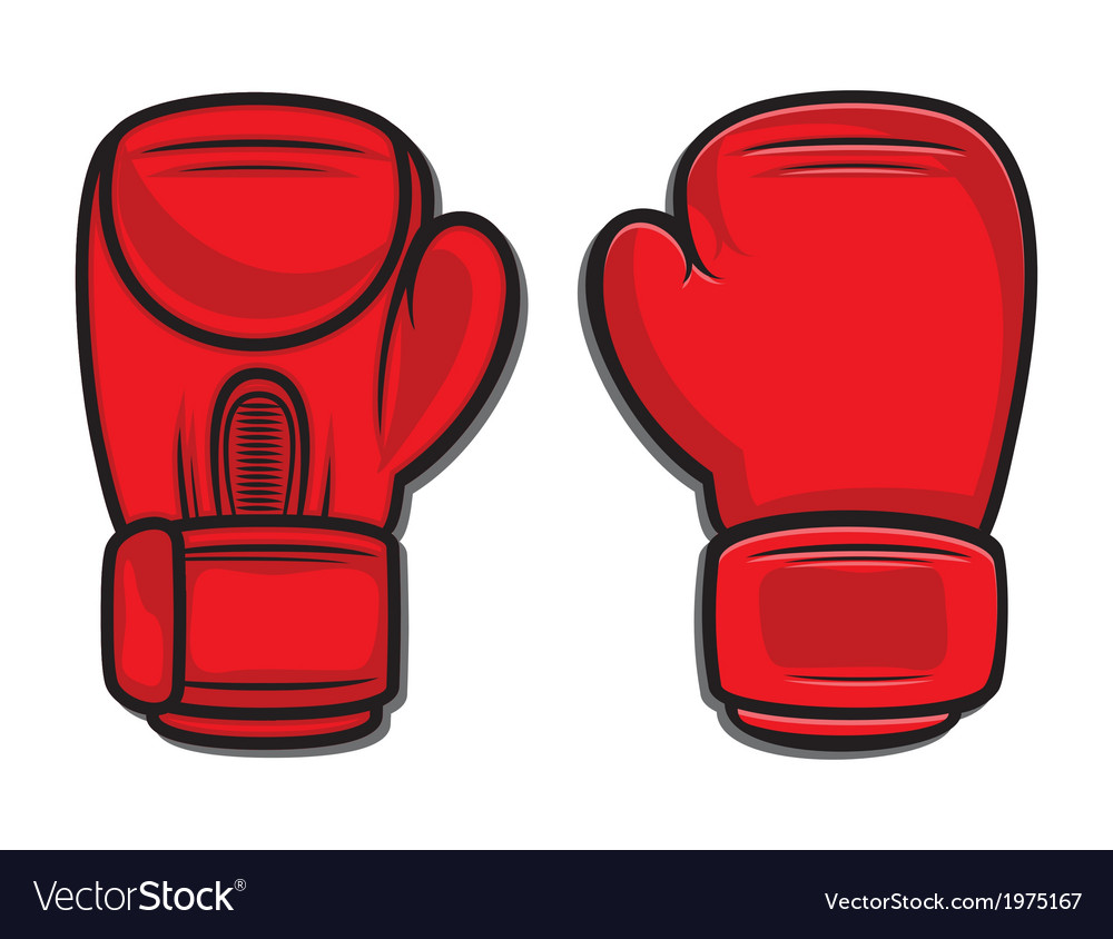 Boxing gloves4 vector | Price: 1 Credit (USD $1)
