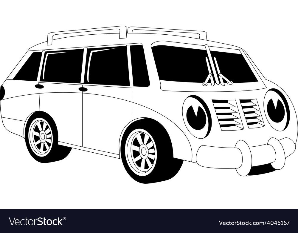 Cartoon car vector   Price: 1 Credit (USD $1)