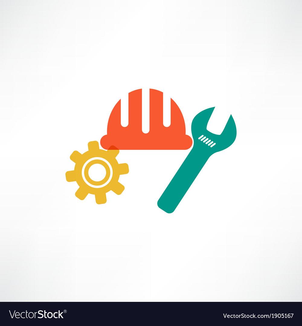 Color settings button icon vector | Price: 1 Credit (USD $1)