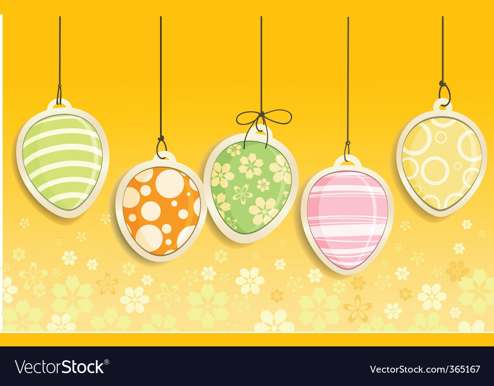 Easter eggs vector   Price: 3 Credit (USD $3)