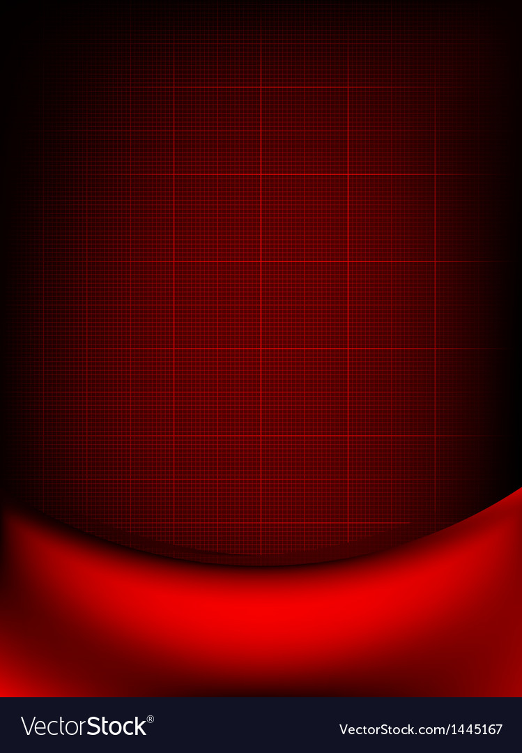 Red curtain fade to dark card eps 10 vector | Price: 1 Credit (USD $1)