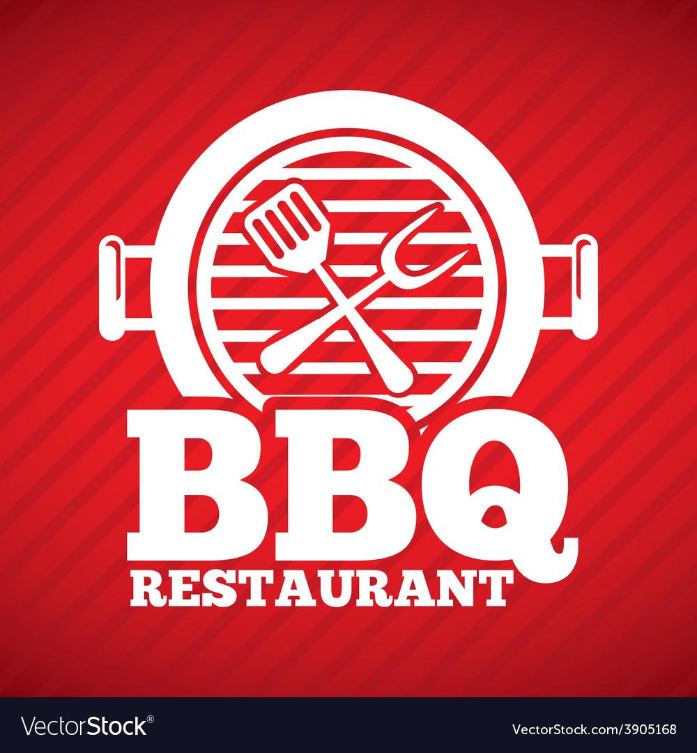 Barbecue restaurant vector | Price: 3 Credit (USD $3)