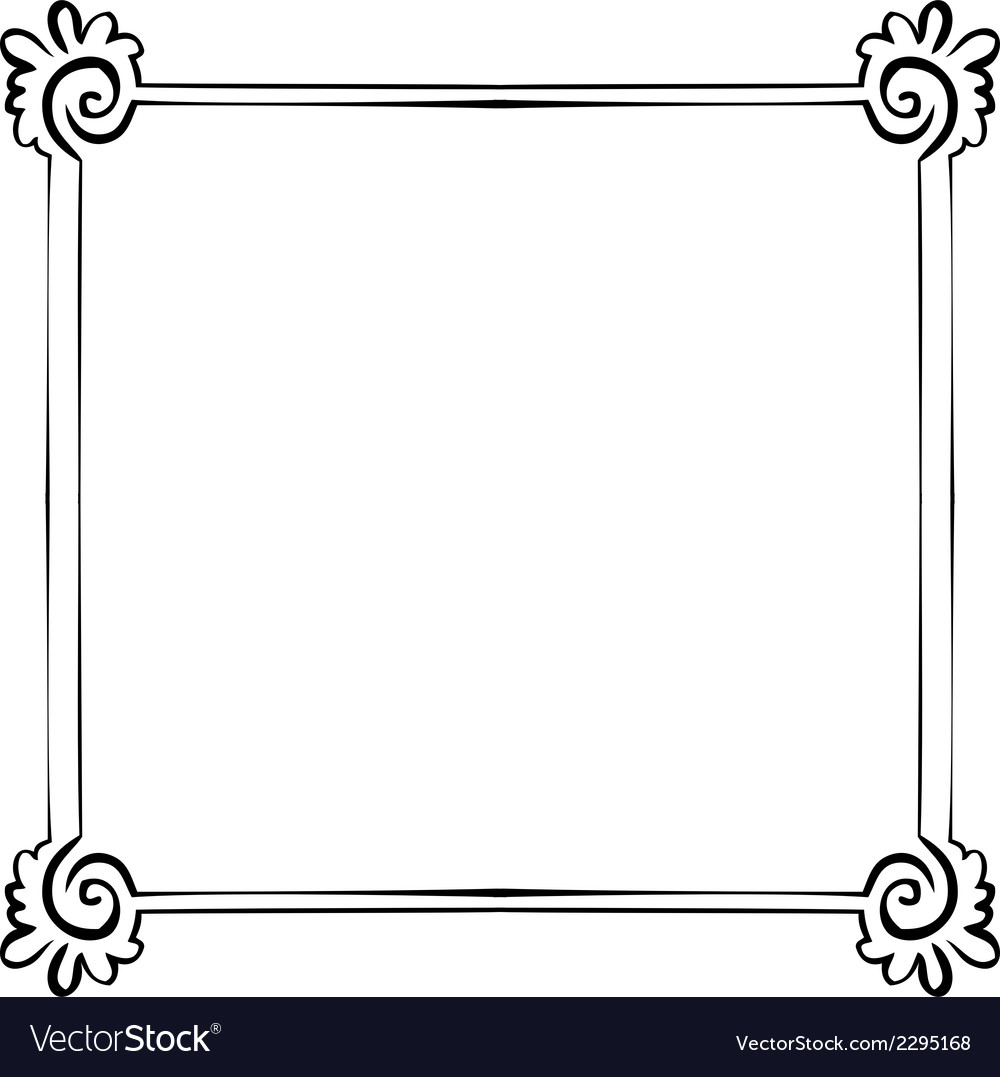 Frame element for design vector | Price: 1 Credit (USD $1)
