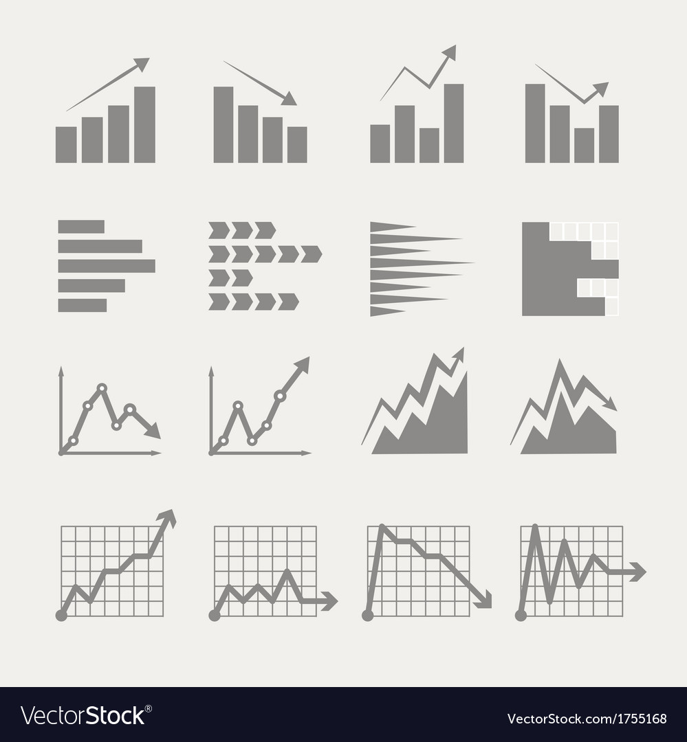 Graphic business ratings and charts vector | Price: 1 Credit (USD $1)