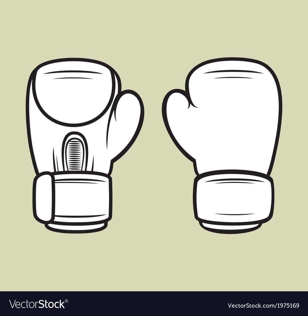 Boxing gloves5 vector | Price: 1 Credit (USD $1)