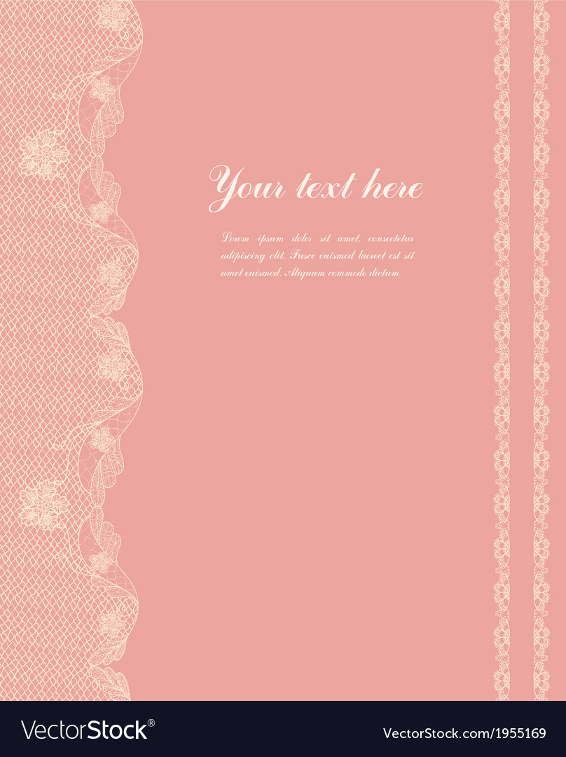 Vintage lacy border vector | Price: 1 Credit (USD $1)