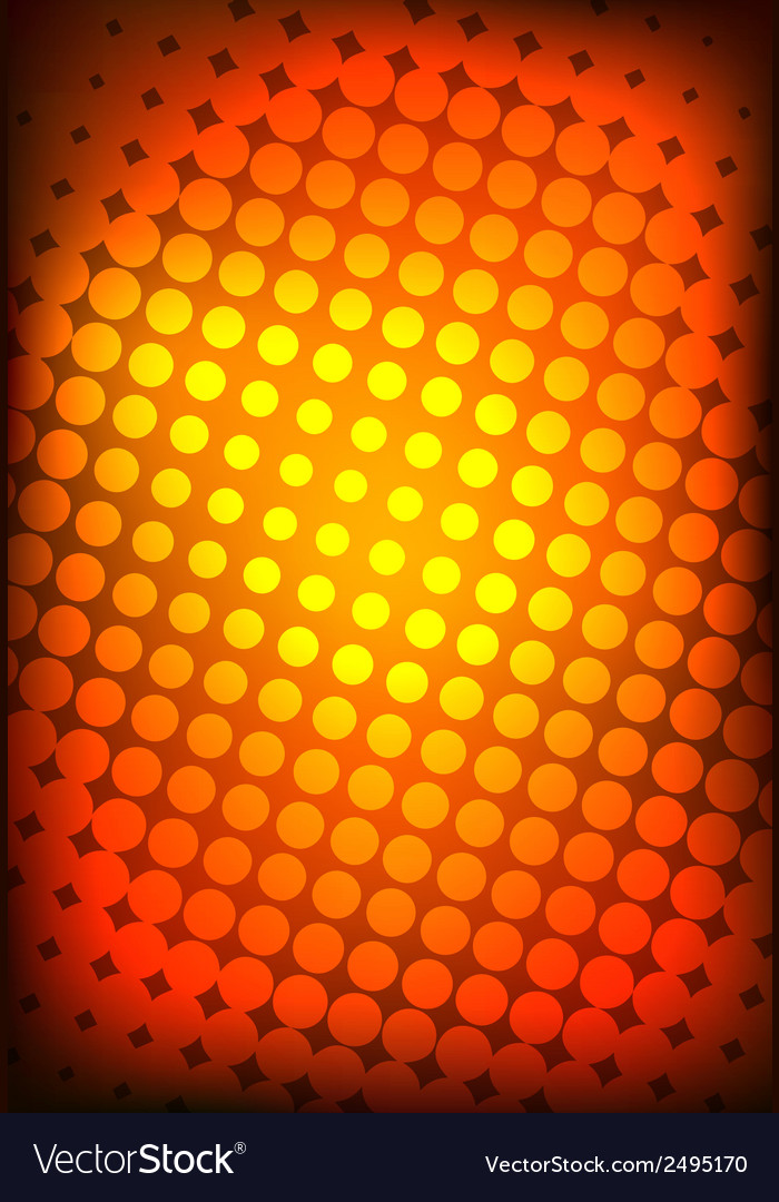 Big halftone background vector | Price: 1 Credit (USD $1)