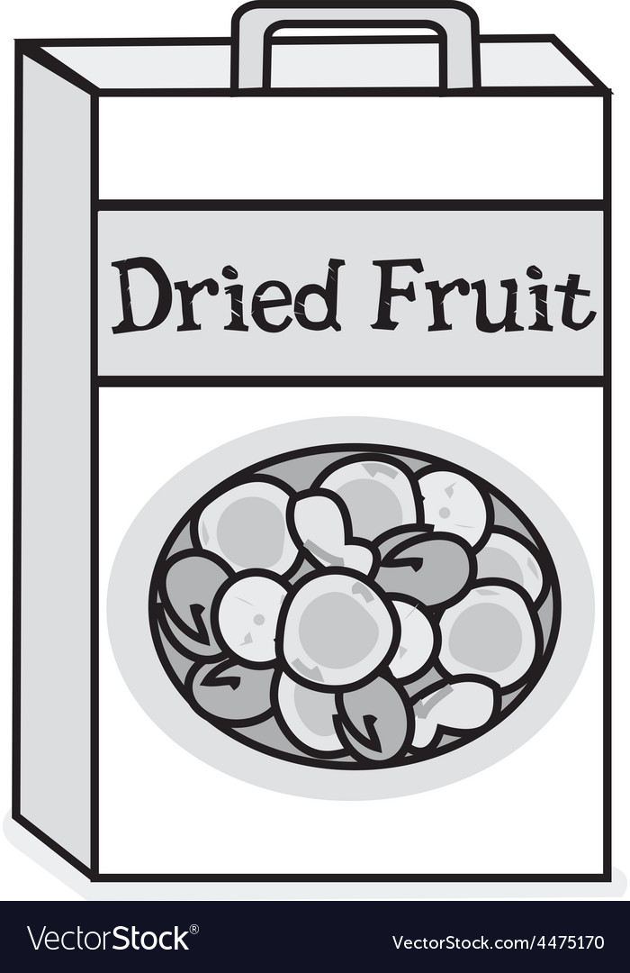 Dried fruit vector | Price: 1 Credit (USD $1)