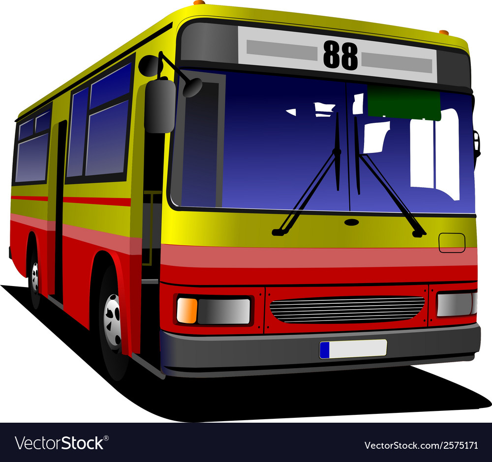 Al 0613 bus 03 vector | Price: 1 Credit (USD $1)