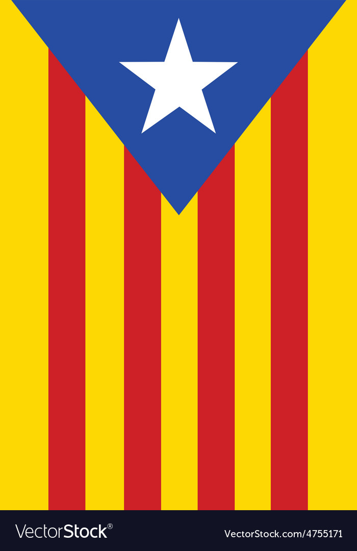 Catalonia vector | Price: 1 Credit (USD $1)
