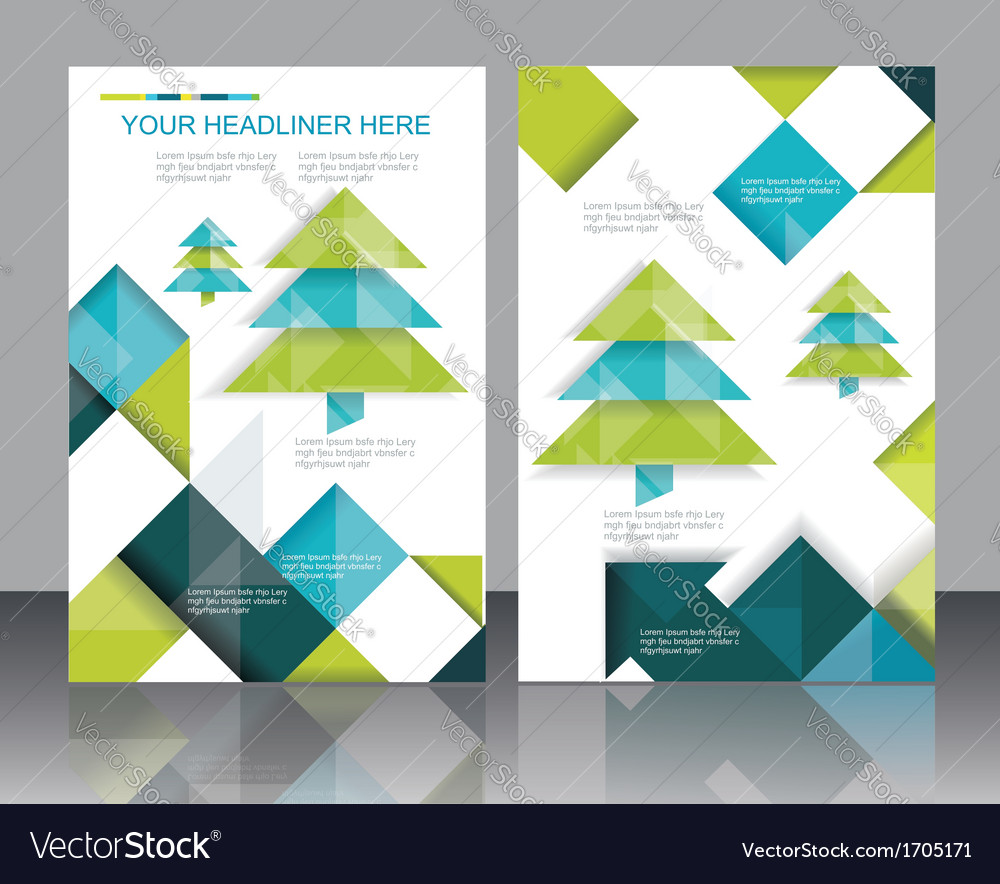 Christmas tree and decorations on winter vector | Price: 1 Credit (USD $1)