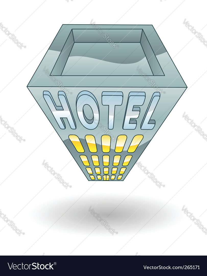 Hotel illustration vector | Price: 3 Credit (USD $3)