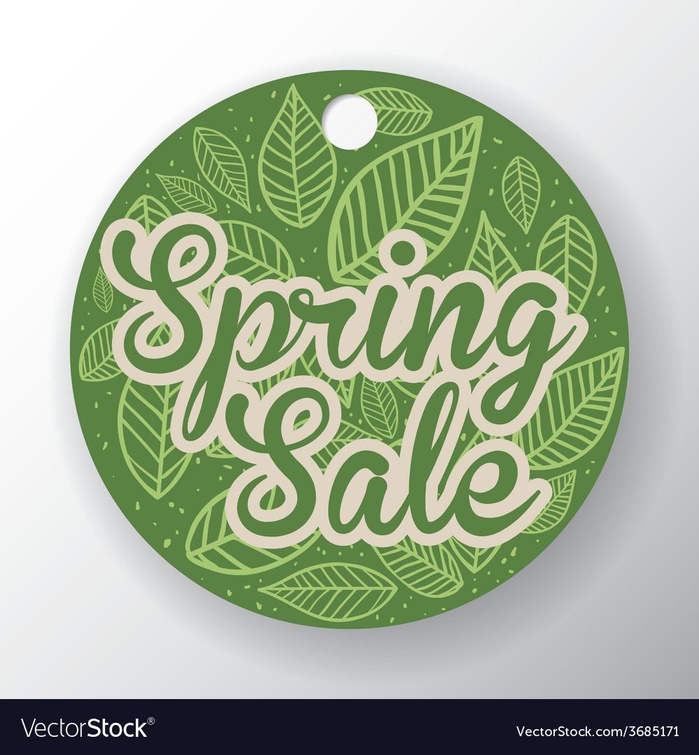 Spring sale vector | Price: 1 Credit (USD $1)