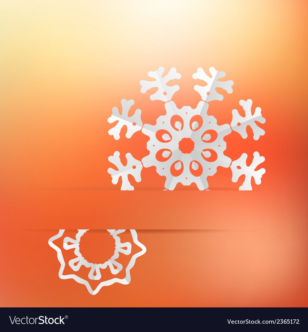 Christmas background and snowflakes  eps8 vector | Price: 1 Credit (USD $1)