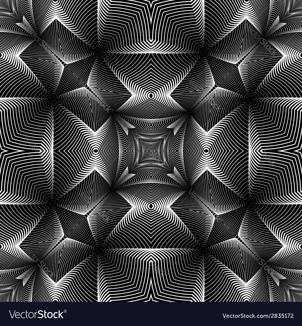 Design seamless decorative trellised pattern vector | Price: 1 Credit (USD $1)