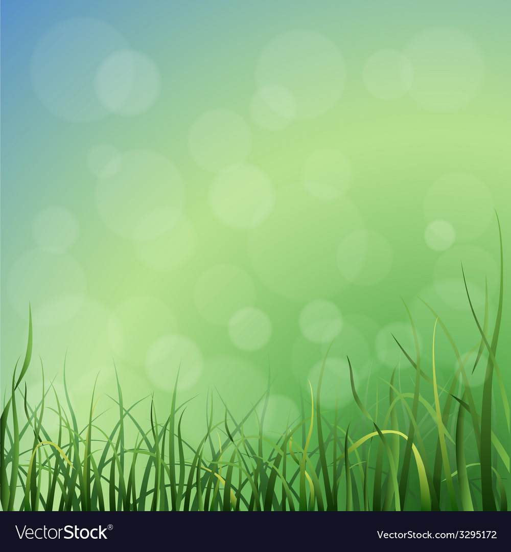 Grass background vector | Price: 1 Credit (USD $1)