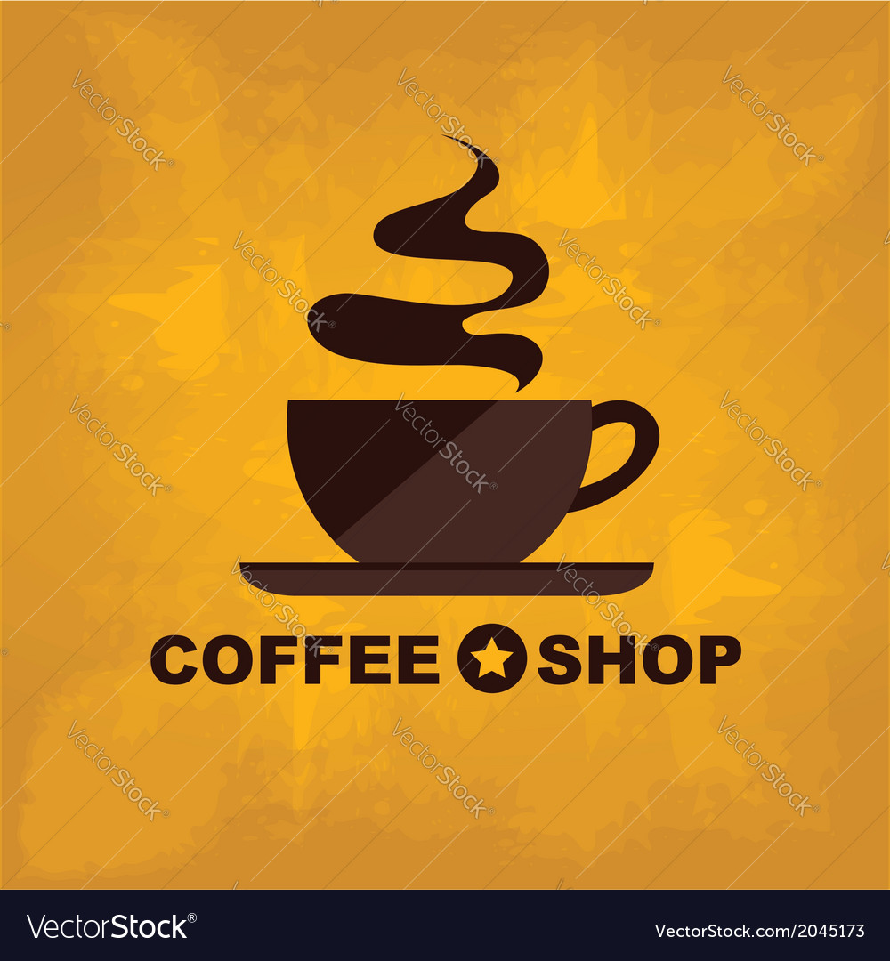 Coffee icon menu flat design for menu coffee shop vector | Price: 1 Credit (USD $1)