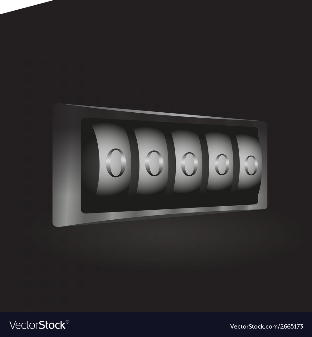Combination lock vector | Price: 1 Credit (USD $1)