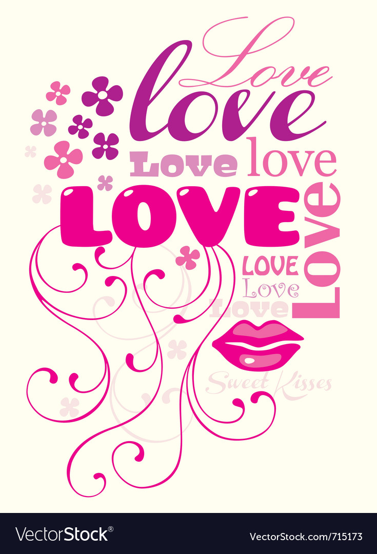 Love composition vector | Price: 1 Credit (USD $1)