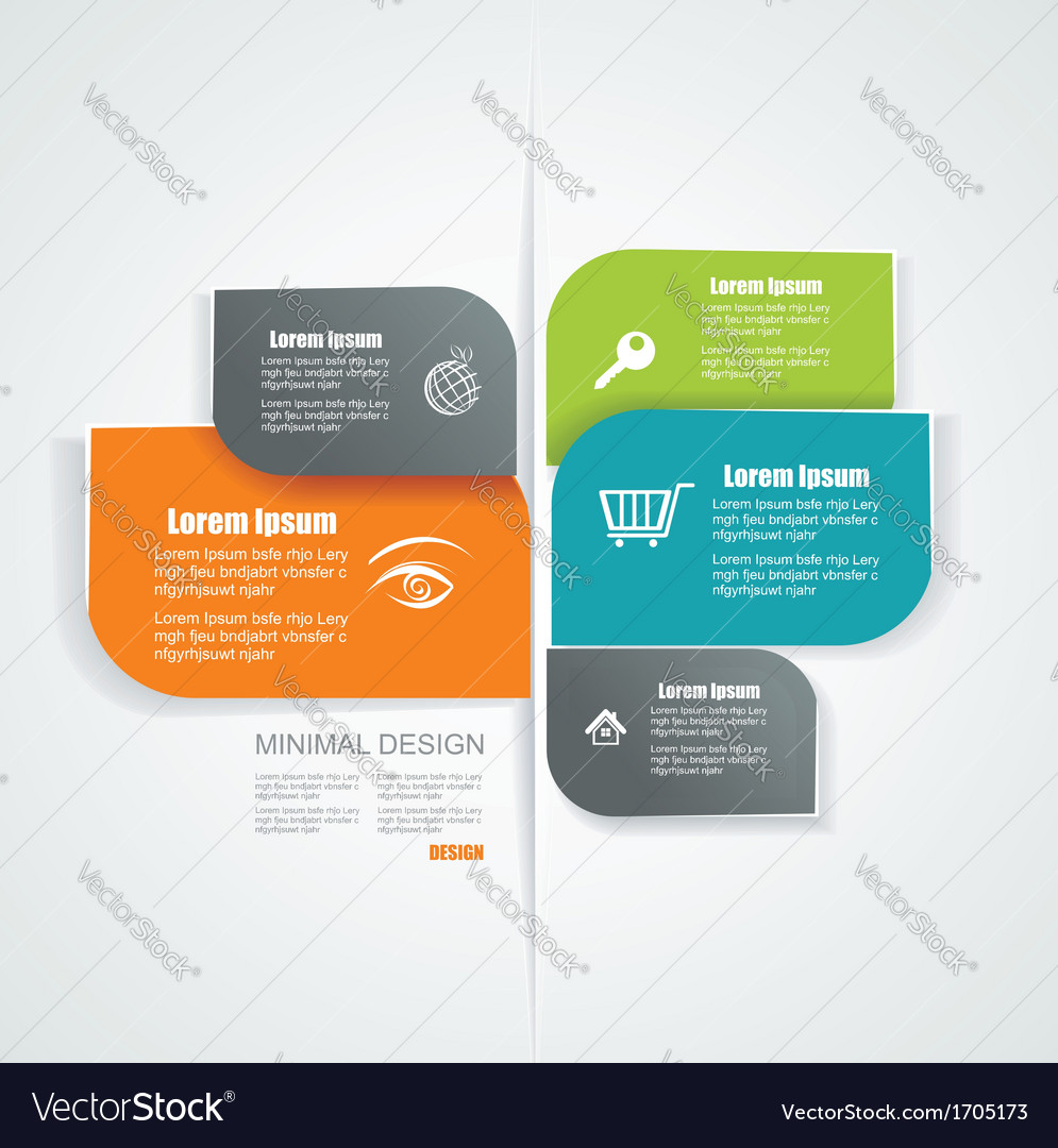 Template for interface or infographic ready to vector | Price: 1 Credit (USD $1)