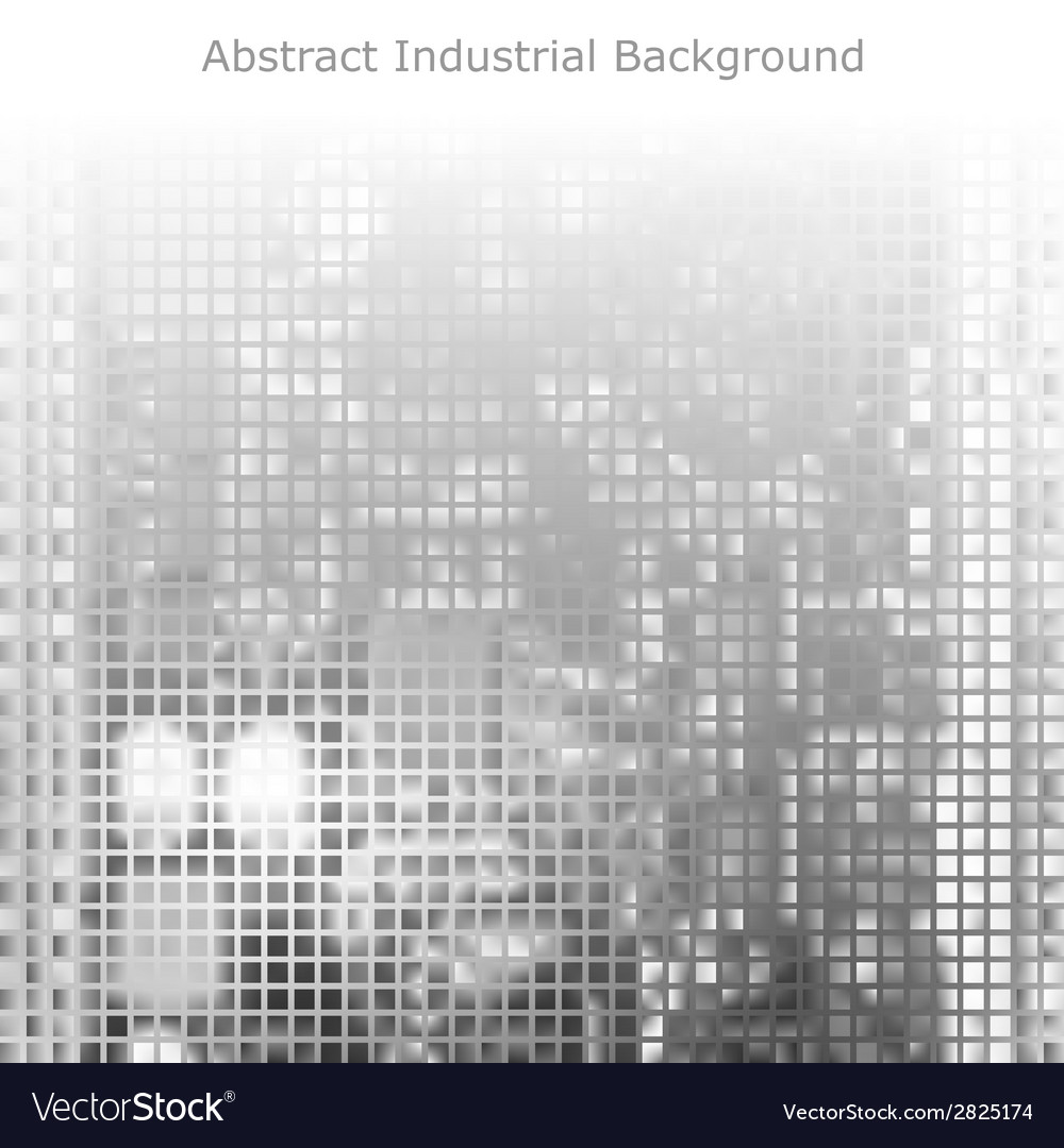Abstract gray technology background vector | Price: 1 Credit (USD $1)
