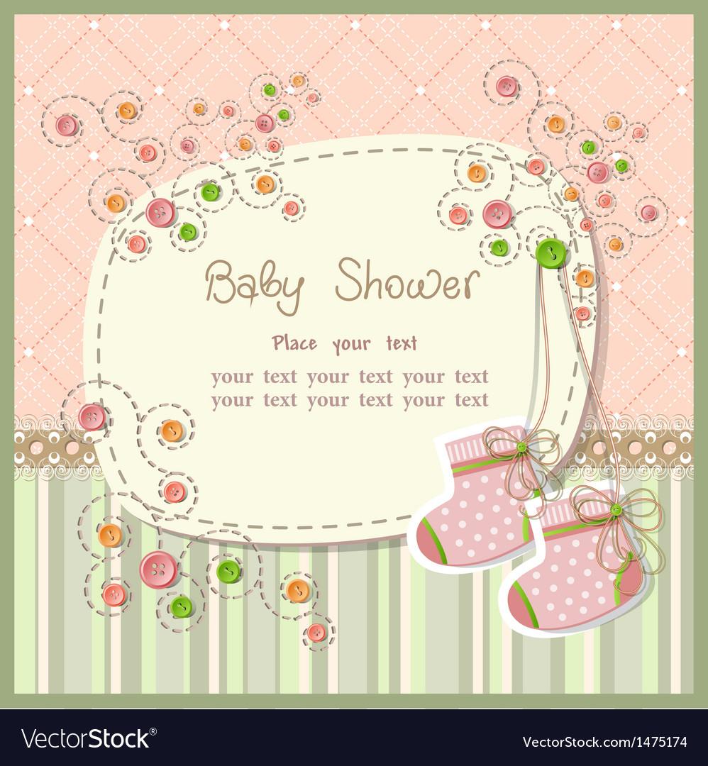 Baby shower vector | Price: 3 Credit (USD $3)