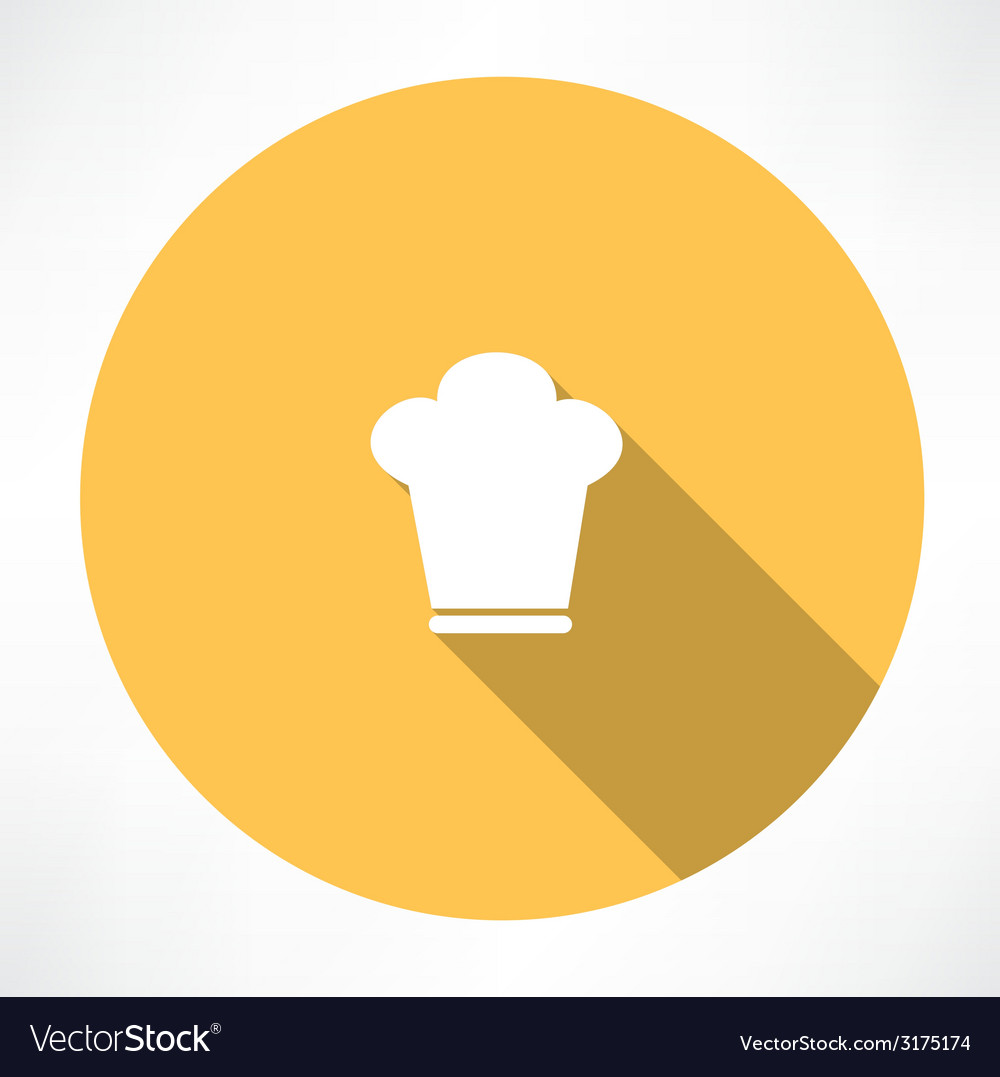 Cook hat vector | Price: 1 Credit (USD $1)