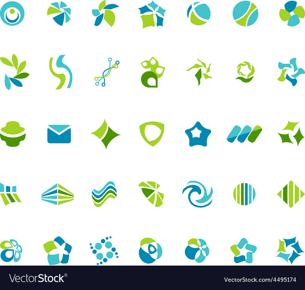 Different abstract trendy symbols vector   Price: 1 Credit (USD $1)