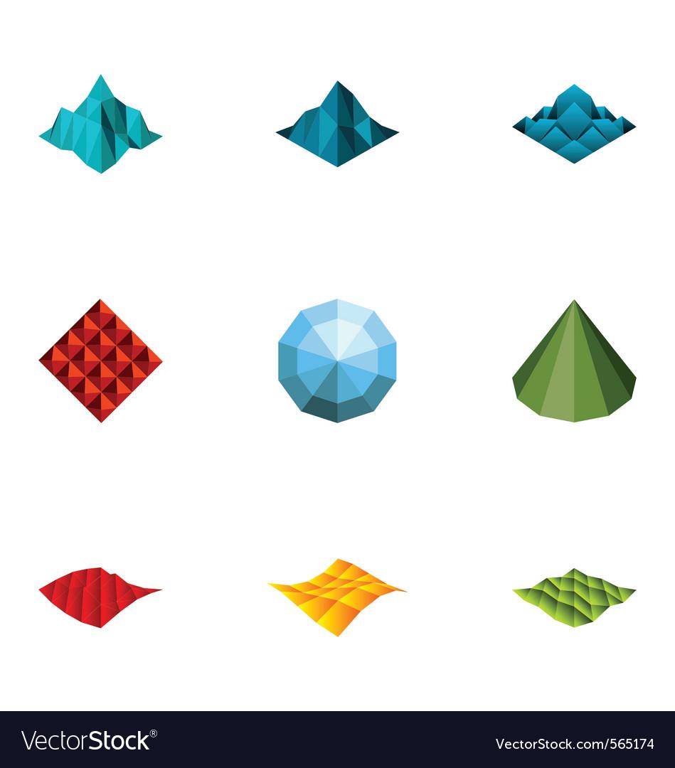 Logo design elements set 17 vector | Price: 1 Credit (USD $1)