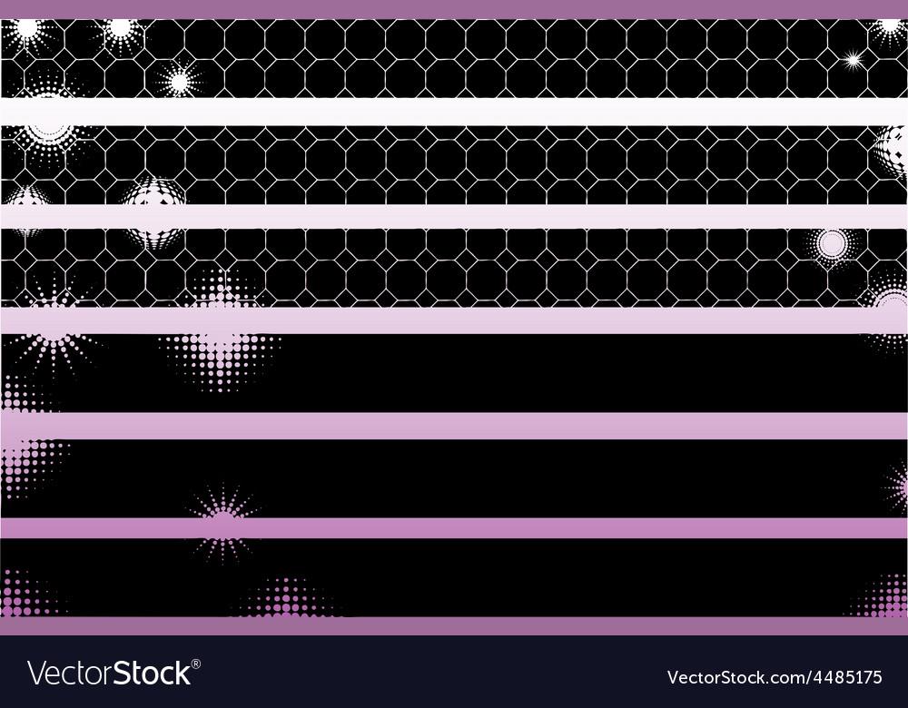 Black graphic elements vector | Price: 1 Credit (USD $1)