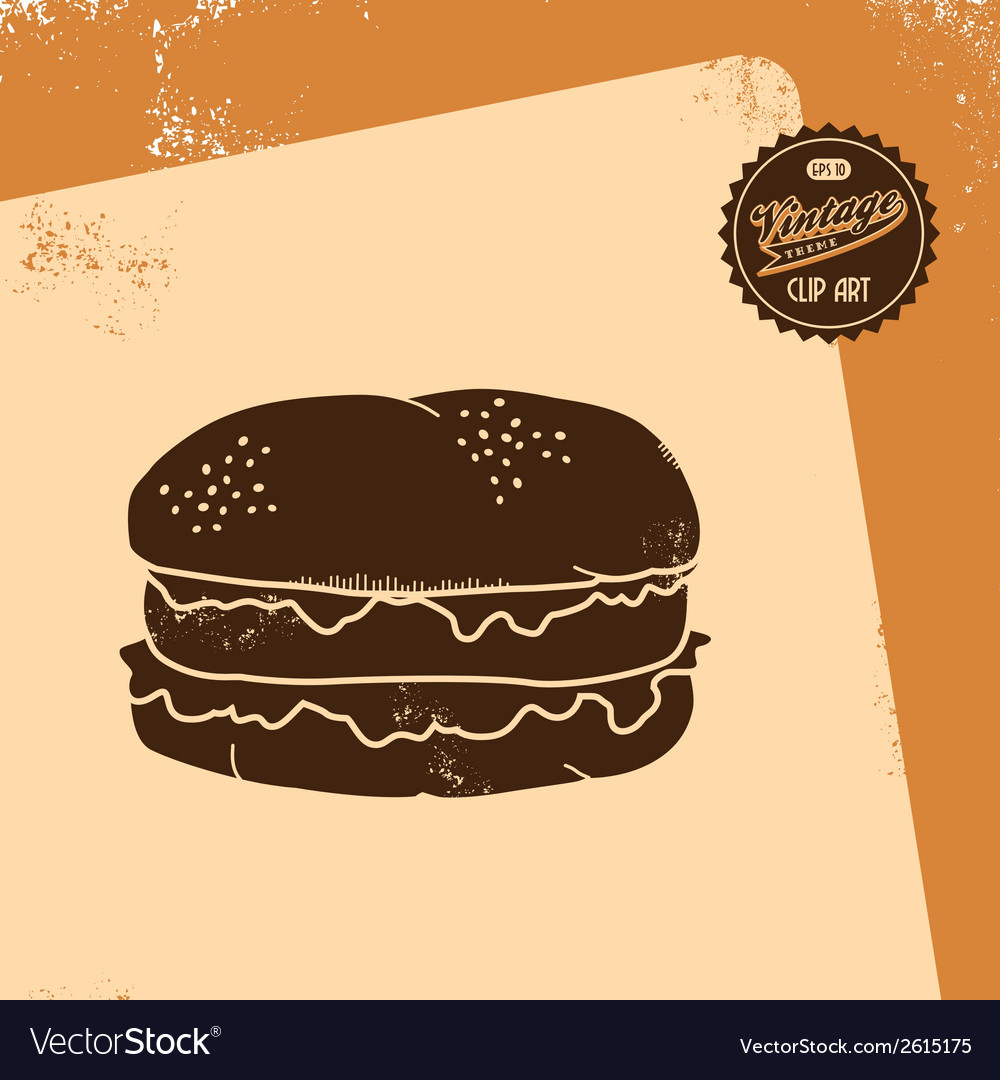 Junk food icon vector | Price: 1 Credit (USD $1)