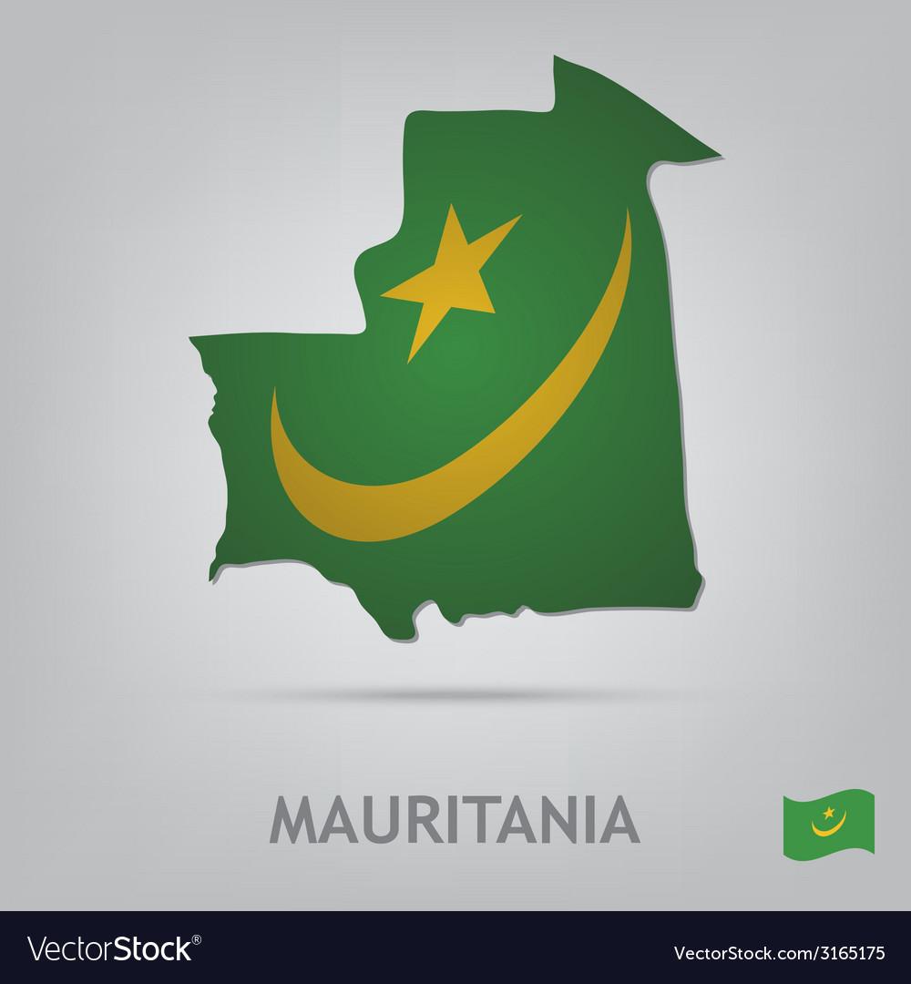 Mauritania vector | Price: 1 Credit (USD $1)