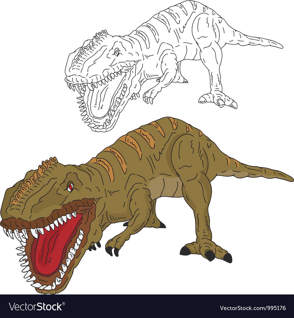 Dinosaur attack vector | Price: 1 Credit (USD $1)