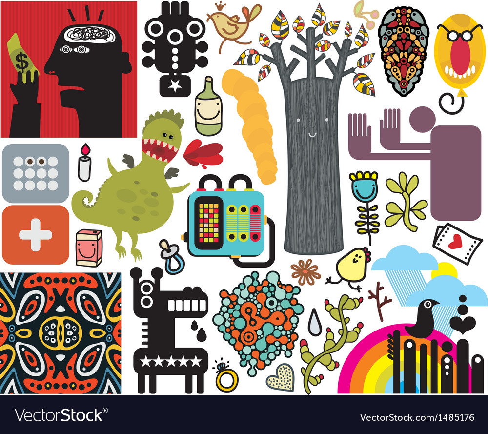 Mix of different images vol47 vector | Price: 1 Credit (USD $1)