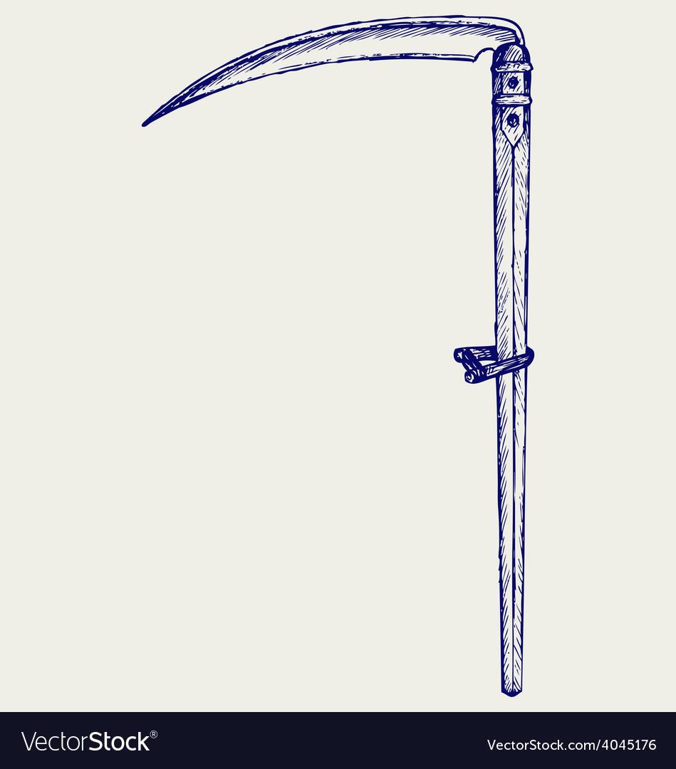 Old scythe vector   Price: 1 Credit (USD $1)