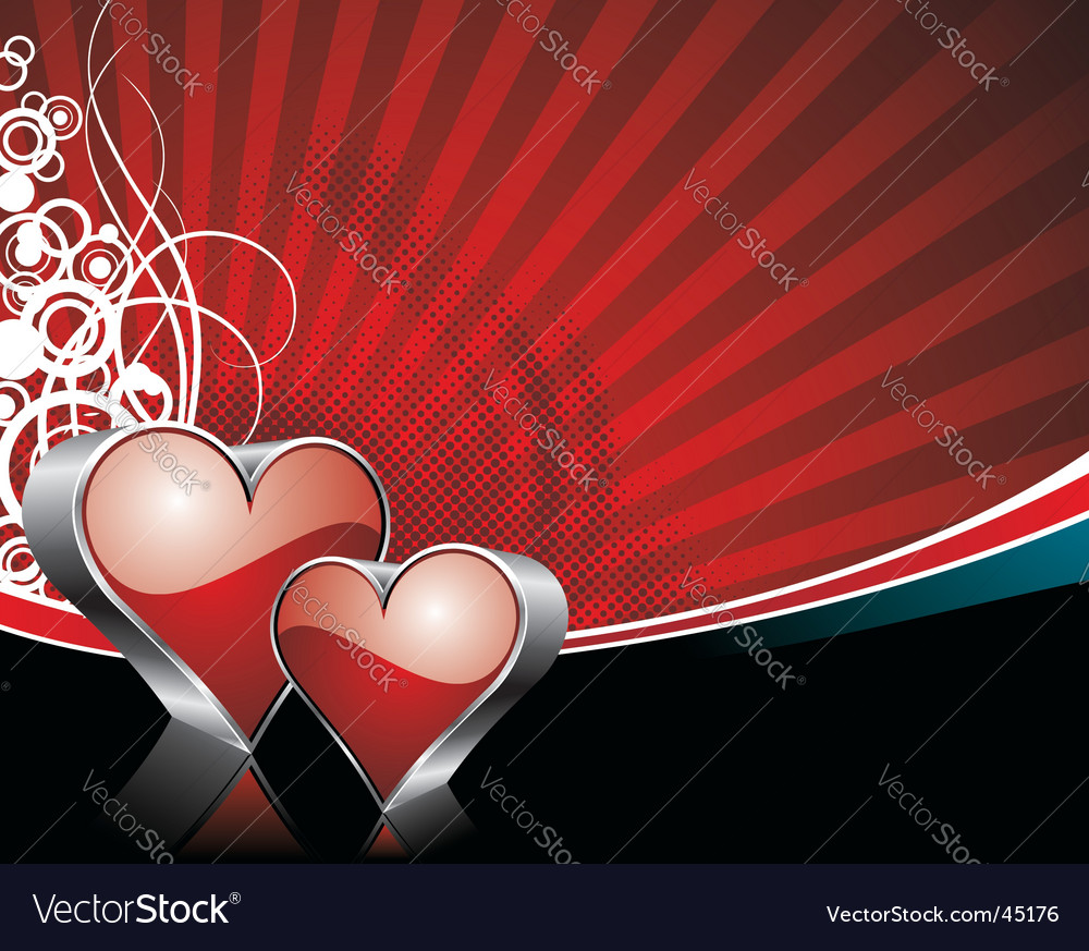 Valentine's day illustration vector | Price: 1 Credit (USD $1)