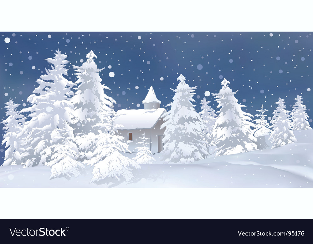 White christmas vector | Price: 3 Credit (USD $3)
