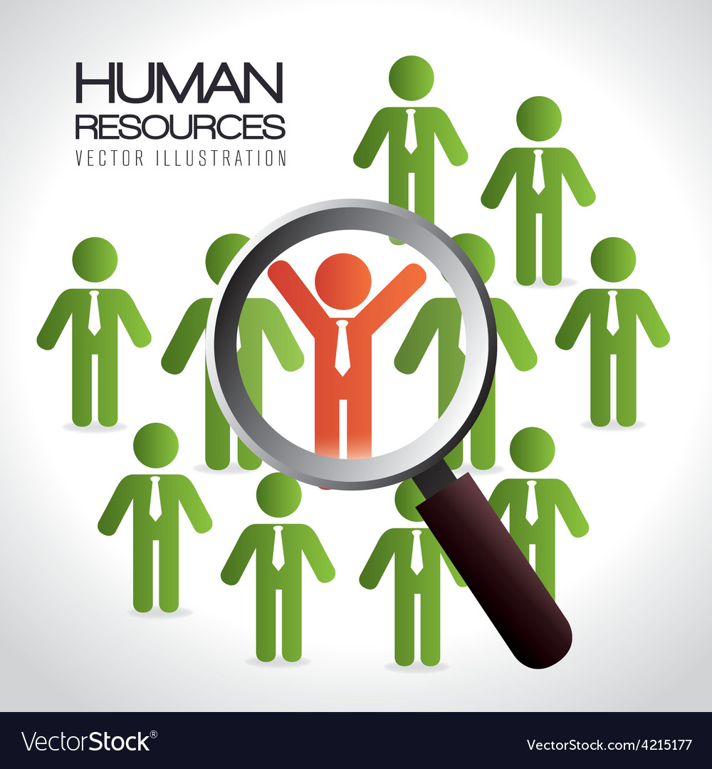 Human resources vector | Price: 1 Credit (USD $1)