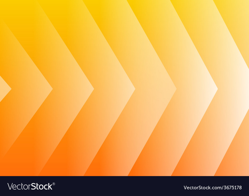 Abstract yellow arrows background vector | Price: 1 Credit (USD $1)