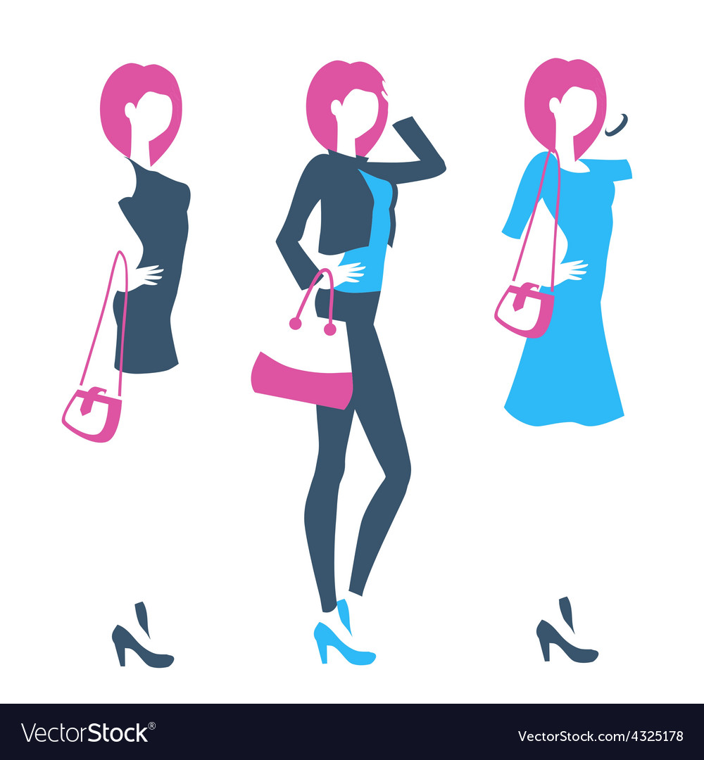 Logo for boutique clothing store online shop with vector | Price: 1 Credit (USD $1)