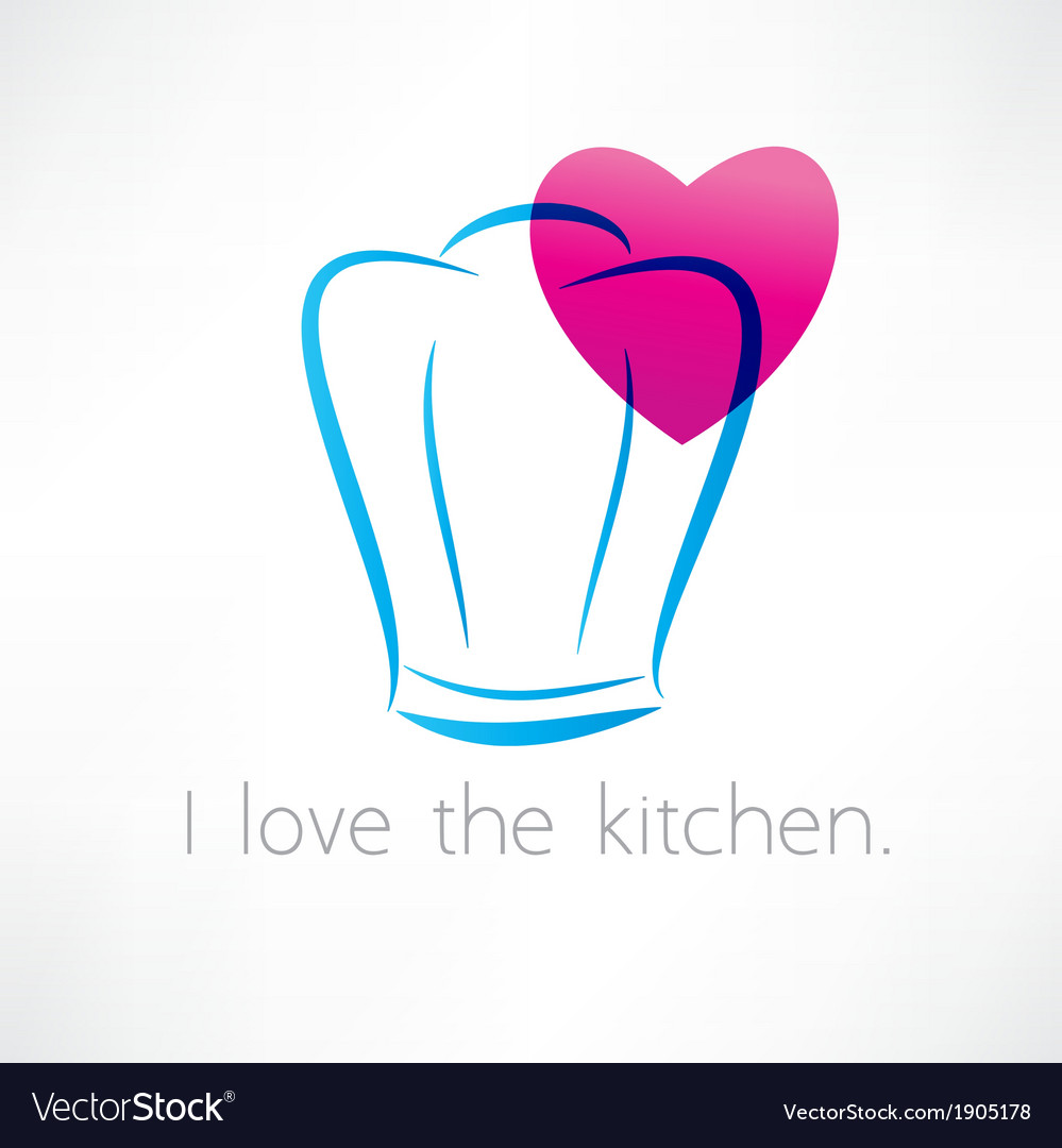 Love to cook icon vector | Price: 1 Credit (USD $1)