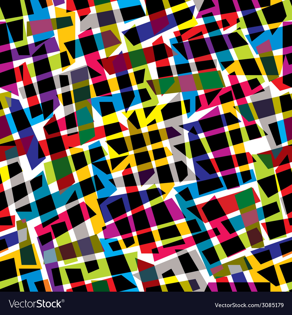 Abstract colorful seamless pattern background vector | Price: 1 Credit (USD $1)