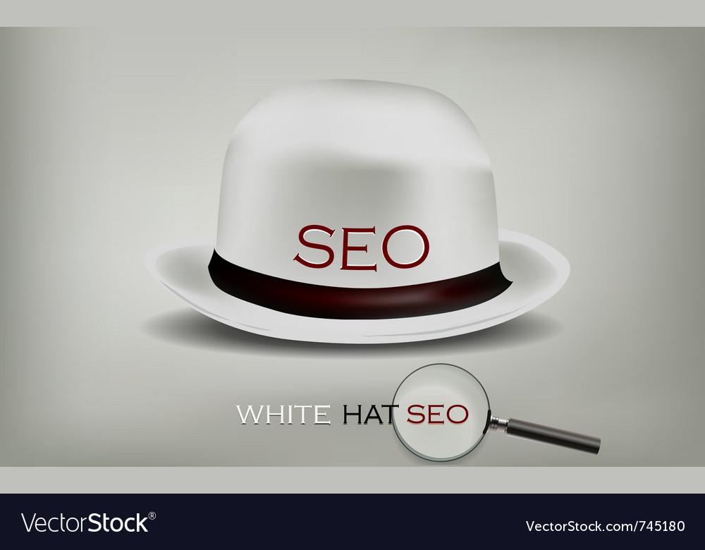 Seo white hat vector | Price: 1 Credit (USD $1)