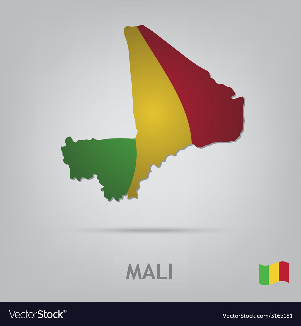 Country mali vector | Price: 1 Credit (USD $1)