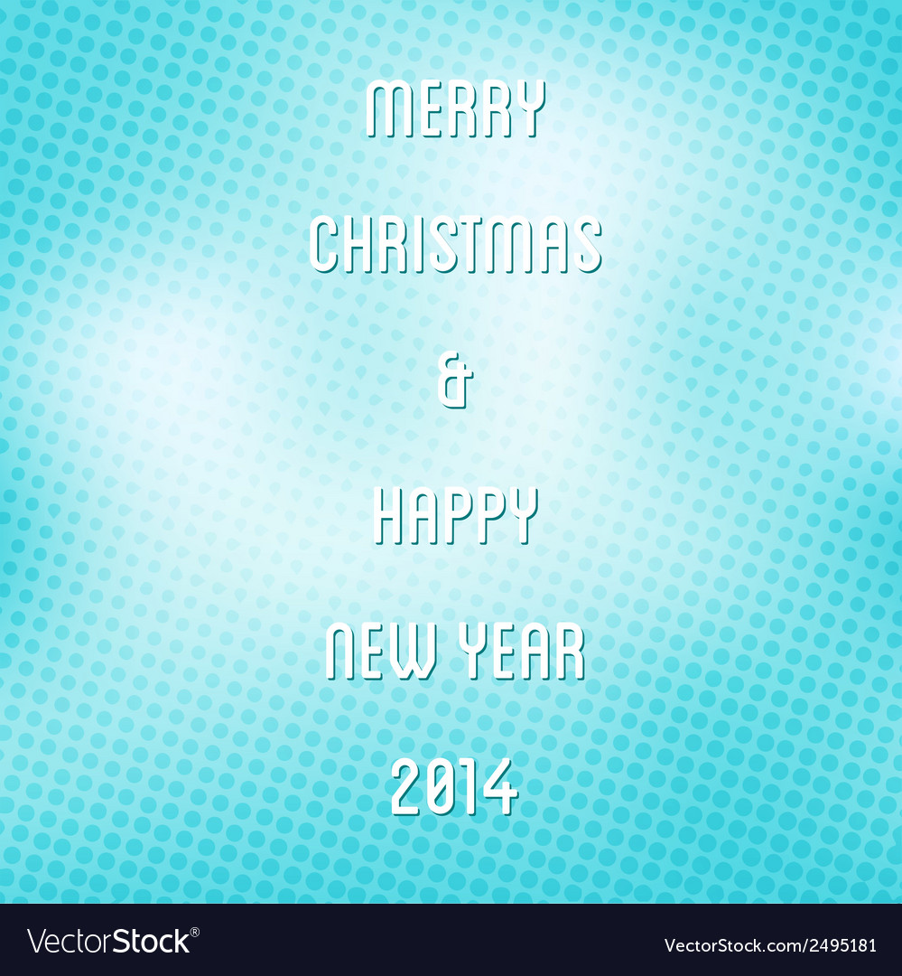 Creative merry christmas background vector | Price: 1 Credit (USD $1)
