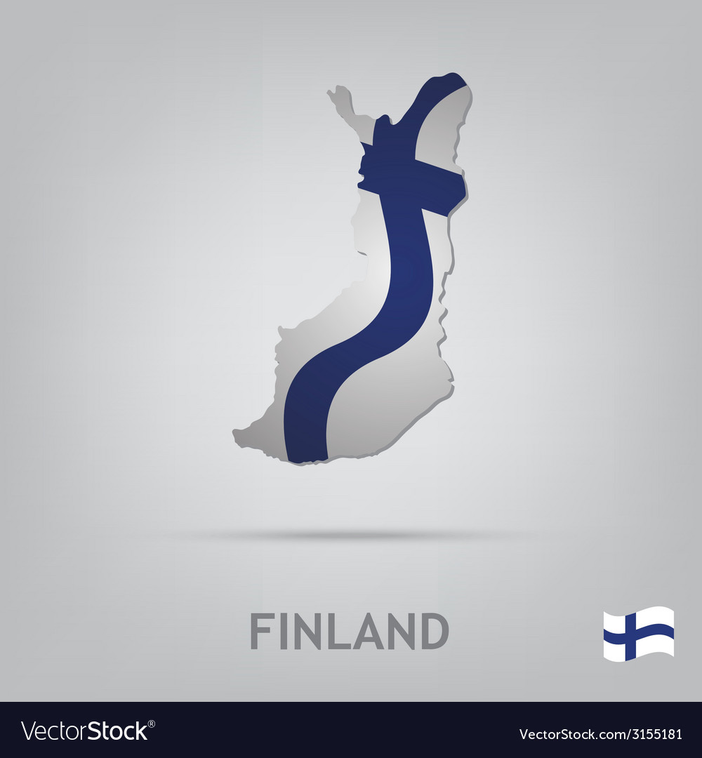 Finland vector | Price: 1 Credit (USD $1)