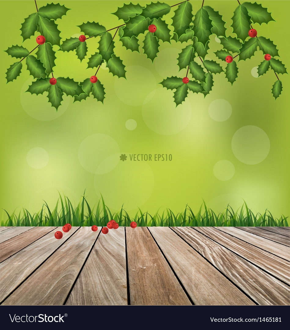 Natural background fresh spring green grass vector | Price: 1 Credit (USD $1)