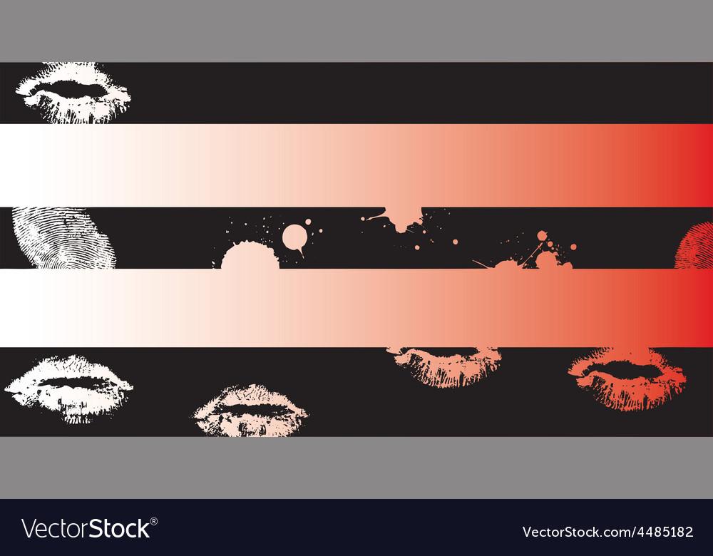 Black grunge strips 3 vector | Price: 1 Credit (USD $1)
