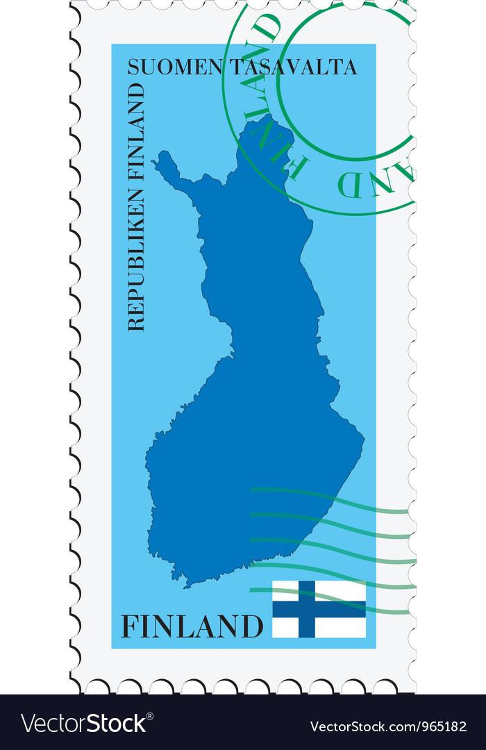 Mail to-from finland vector | Price: 1 Credit (USD $1)